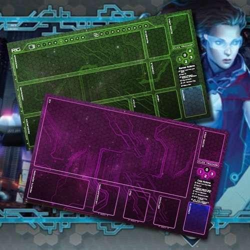 Netrunner Mat Set 2 Venom Battle Gear