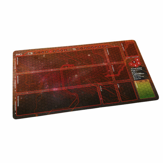 Netrunner Playmat Runner Anarch Red