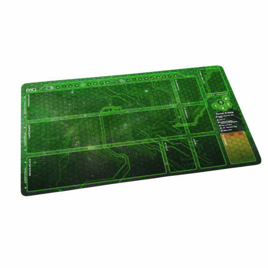 Netrunner Playmat Runner Shaper Green